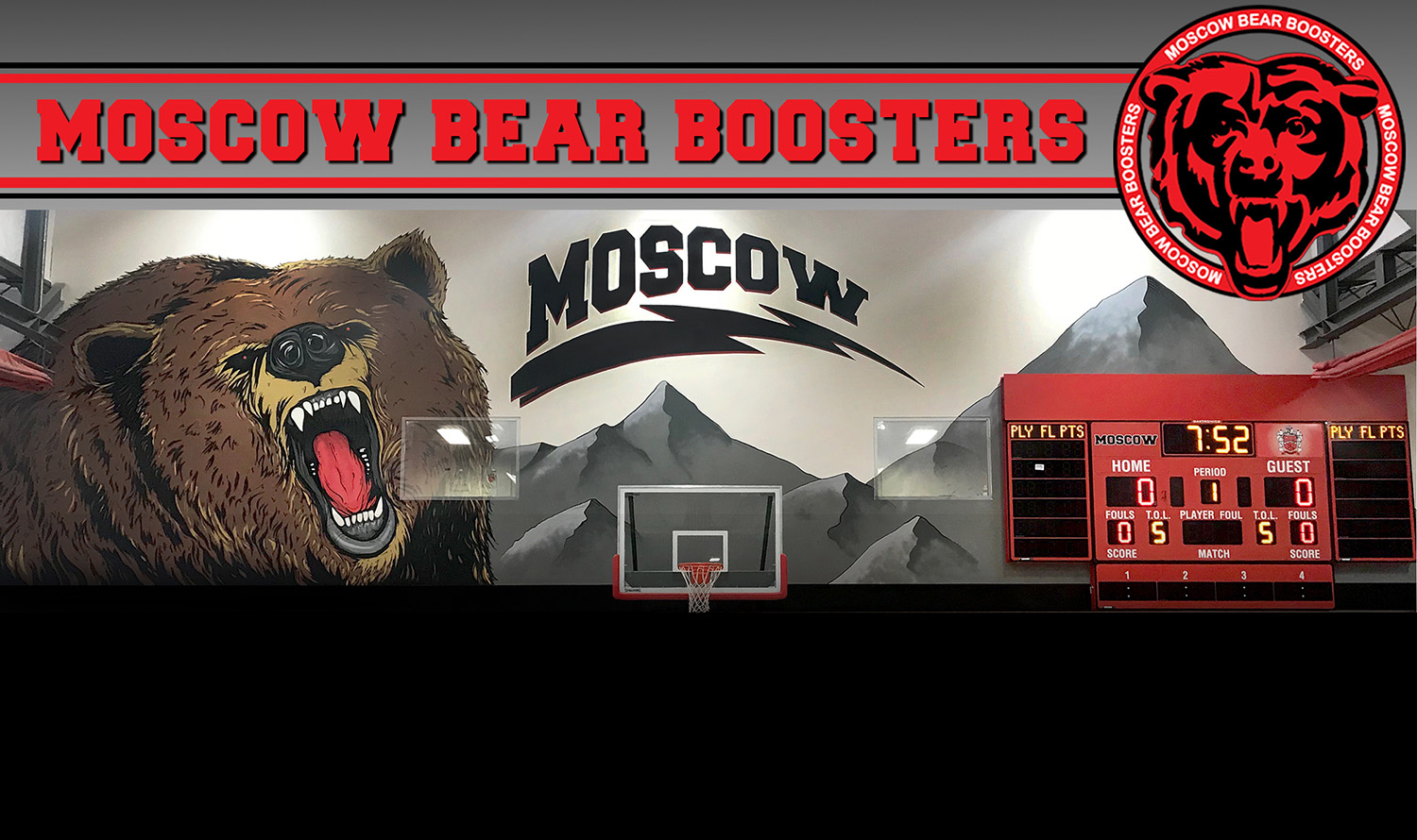Moscow High School Bear Boosters